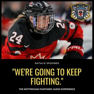 We're going to keep fighting | Natalie Spooner