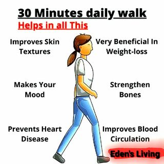 WALKING ~ HEALTH BENEFITS *30 MIN
