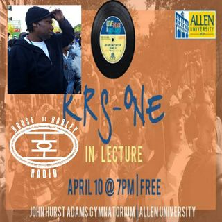 KRS ONE Lecture a Love Peace and Hip Hop Event
