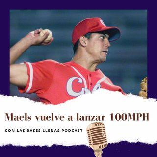 Maels Rodriguez, vuelve a lanzar 100 MPH