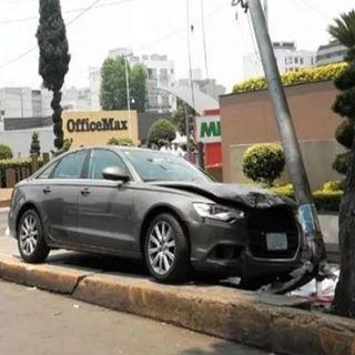 Se accidenta embajador de Guatemala en México