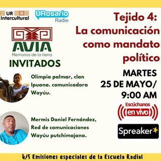 Tejido 4: la comunicación como mandato político