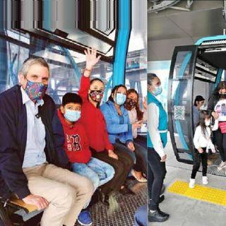 Inauguran en la CDMX, el Teleférico más largo de América Latina.