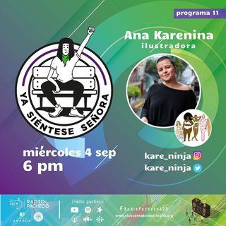 """Ana Karenina"" Ya Siéntese Señora Prog 11"