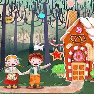 LA CASITA DE CHOCOLATE 🍫 Hansel y Gretel 🏡 Cuento infantil corto para dormir.