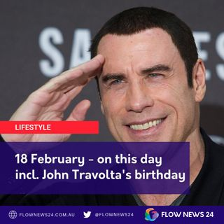 18 February - On This Day with Court incl. @MollyRingwald, @JohnTravolta