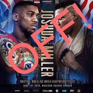☎️Joshua vs Miller Officially Off‼️🆘The Hunt For Possible Foes Begins✅