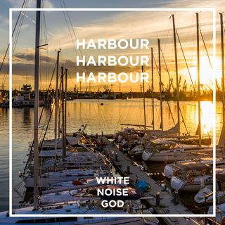 Harbour Golden Hour Ambience | White Noise | ASMR sounds for deep Sleep Better | Relax | Study | Work