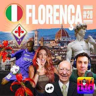 Florença: arte nas ruas, fantasma nos prédios e muita porrada no futebol