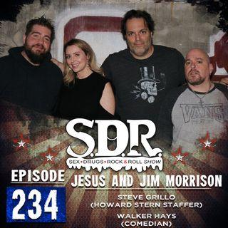 Steve Grillo & Walker Hays (Howard Stern Staffer & Comedian) - Jesus And Jim Morrison