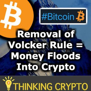 Tons Of Money Can Enter Crypto Market With Fed Loosening Volcker Rule - Bitcoin Twitter Emoticon