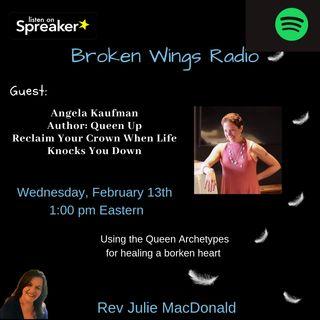 Queen UP! Angela Kaufman guest