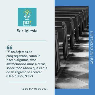12 de mayo - Ser iglesia - Devocional de Jóvenes - Etiquetas Para Reflexionar
