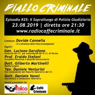 #25 Ep. | Il Sopralluogo di Polizia Giudiziaria