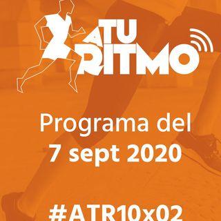 ATR 10x02 - Corredores contra el coronavirus, vuelta al cole de los niños al atletismo y homenaje a José Luis Capitán