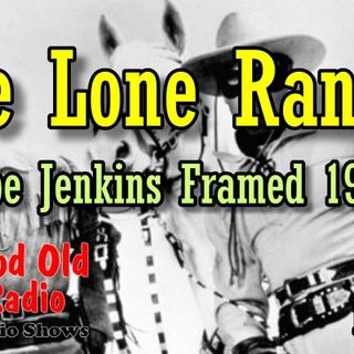 The Lone Ranger, Abe Jenkins Framed 1938  | Good Old Radio #loneranger #ClassicRadio