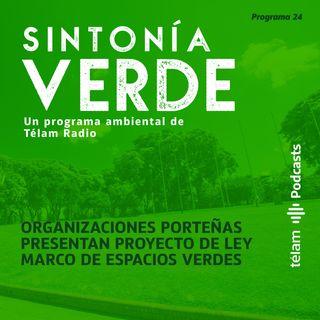 Organizaciones porteñas presentan proyecto de ley marco de espacios verdes