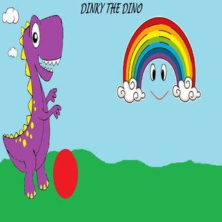 Dinky the Dinosaur- Dinky And The Rainbow