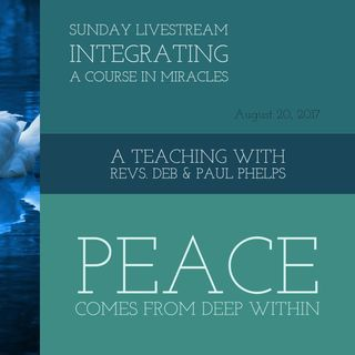 Peace Comes From Deep Within