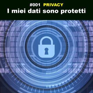 I miei dati sono protetti
