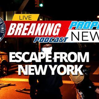 NTEB PROPHECY NEWS PODCAST: New York City Becomes A Black Lives Matter No-Go Zone As Hundreds Of Thousands Flee Liberal Democratic Tyranny