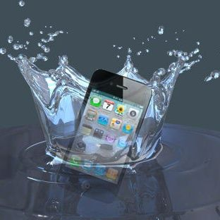 iPhones & Water Don't Mix