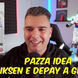 MILAN PAZZA IDEA ERIKSEN E DEPAY A GENNAIO  Calciomercato Ac Milan