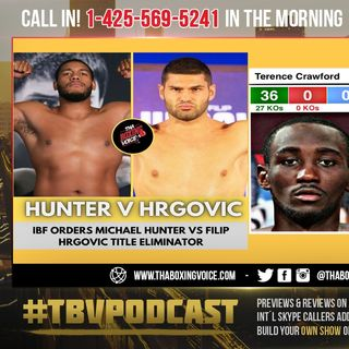 ☎️Hunter vs Hrgovic Victor Secures a Shot at Fury-Joshua Winner🔥Rumor: Crawford vs Thurman in June😱
