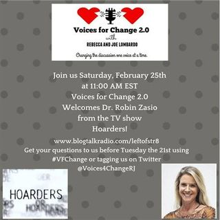"From TV's ""Hoarders,"" The Wonderful Dr. Robin Zasio Joins Us (Replay)"