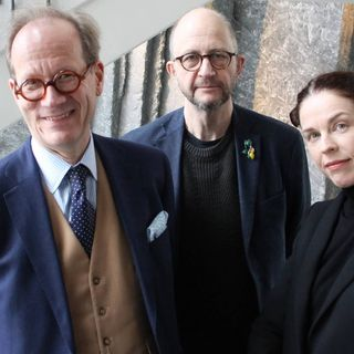 Per Naroskin, Jessika Gedin och Johan Hakelius