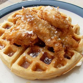 Chicken And Waffles FAIL
