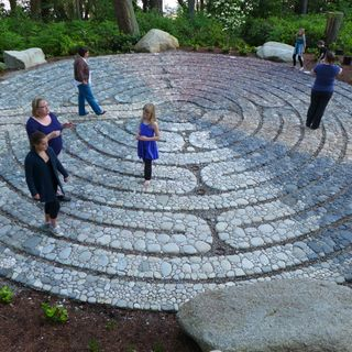 Constructing A Stone Mosaic Labyrinth with Jeffrey Bale; Capturing Nature and Her Patterns