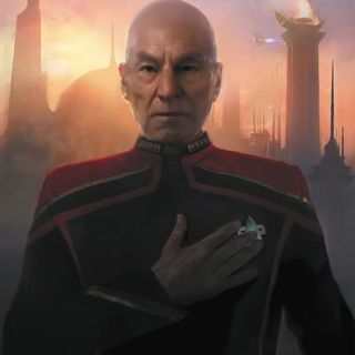2. The Road to Picard: Countdown Comic #1
