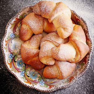 Cornetti con farina di grani antichi