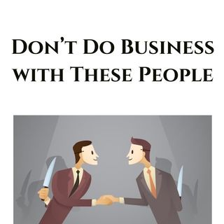Topic: Drop These Types of Business Partners