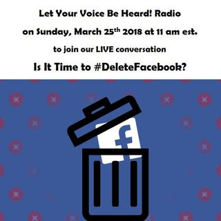 Is It Time to #DeleteFacebook?