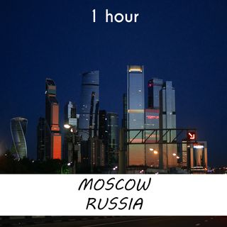 Moscow, Russia | 1 hour RIVER Sound Podcast | White Noise | ASMR sounds for deep Sleep | Relax | Meditation | Colicky