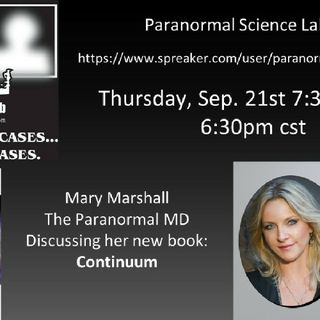 Psl Live Mary Marshall Paranormal MD Author Continuum