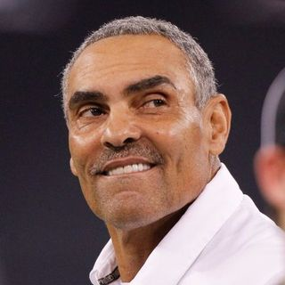 ASU Football Coach Herm Edwards w Rob & Ben