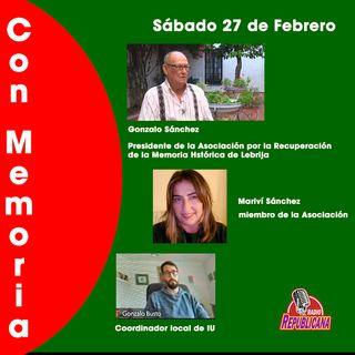 Con Memoria. Programa #22 - LEBRIJA