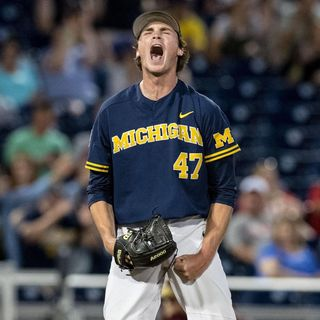 "Michigan Baseball Dazzles at CWS, Matthew Stafford's Broken Back, Pistons' ""Big Three,"" Favorite Faygo Flavor, and Baseball's Accessibility"
