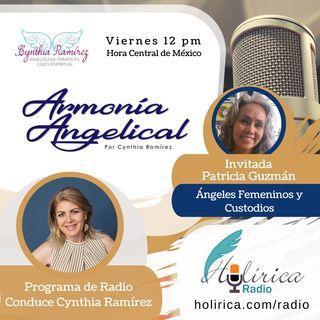 Armonía Angelical - Paty Guzman, Angeles femeninos y custodios