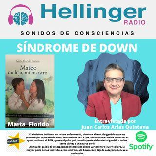 Niños Down con Marta Florido en la Hellinger radio