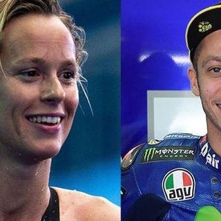 Sport e Covid: positivi anche Valentino Rossi e Federica Pellegrini
