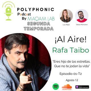 Episodio #1 T2 Polyphonic Podcast. Invitado Rafa Taibo