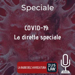 COVID-19: LA DIRETTA SPECIALE – IUSLAW WEBRADIO