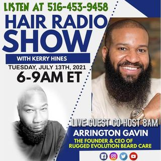 The Hair Radio Morning Show LIVE #583  Tuesday, July 13th, 2021