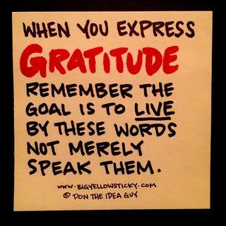 Gratitude Express : BYS 325