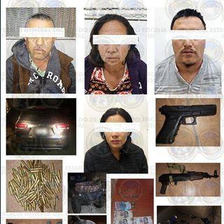 Capturan a cuatro integrantes del cártel de Santa Rosa de Lima