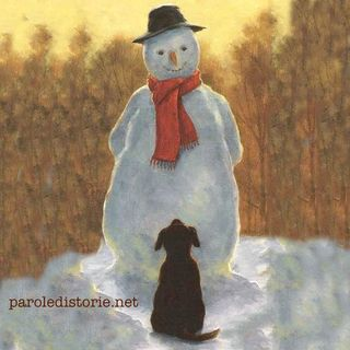 L'uomo di neve, una fiaba di Christian Andersen